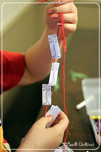 Learning about the nervous system #anatomy #science #homeschool