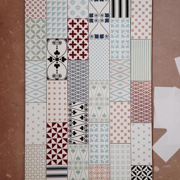 MUGAT - RIVOLI: Clichy Blanco - 10X20cm. Wall Tiles VIVES Azulejos y Gres S.A #tile #pattern #design
