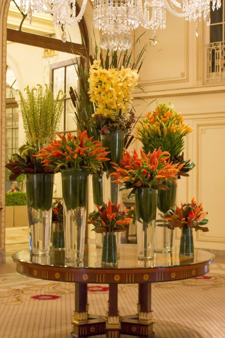 17 best ideas about hotel flower arrangements on pinterest modern flower arrangements tall - Best dried flower arrangements a colorful winter ...