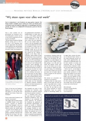 De Beautysalon interview maart 2013