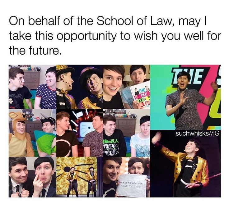 I need that university of law to also wish me luck for the future