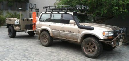 1997 Lexus LX450 Expedition Vehicle - Ready to Explore!