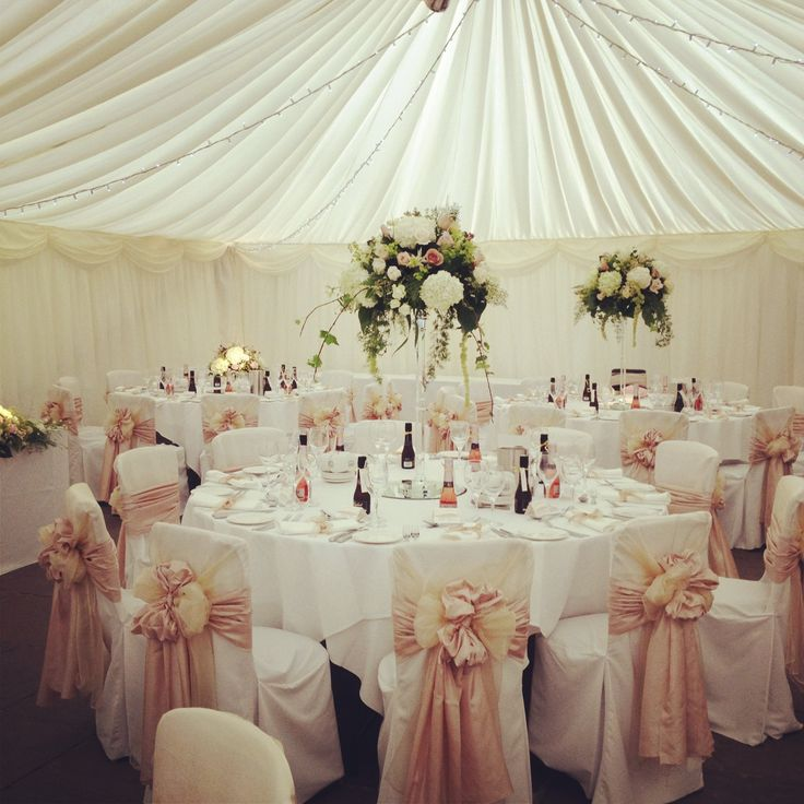 White Wedding Chair Covers Hire