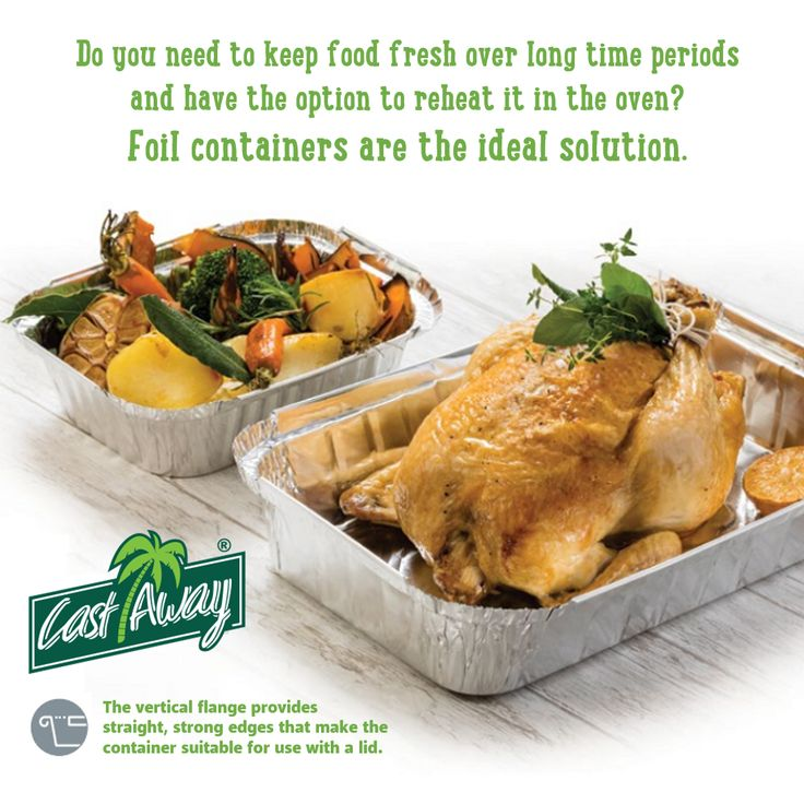 Our foil containers are oven safe & made from foodsafe aluminium. Ideal for hot wet meals. They're the perfect solution for storing food for catering and takeaway menu items. See sizes at bit.ly/recfoilcon #foilcontainers #foilpackaging