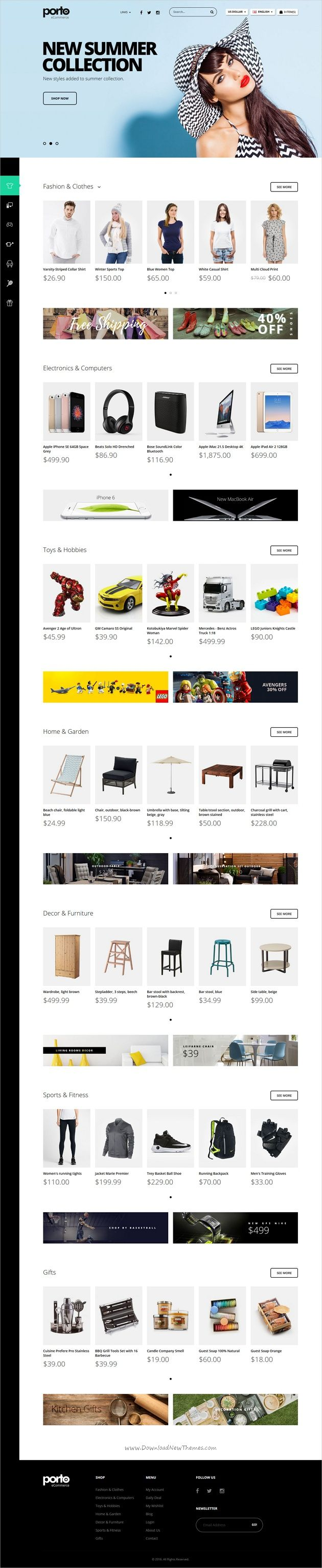 Porto is an Ultimate Responsive #Opencart Theme for #webdev stunning #eCommerce websites that is extremely customizable, easy to use and fully responsive with 20+ unique homepage layouts download now➩ https://themeforest.net/item/porto-ultimate-responsive-opencart-theme/19323881?ref=Datasata