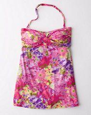 Garnet Hill Ruched Swim Dress