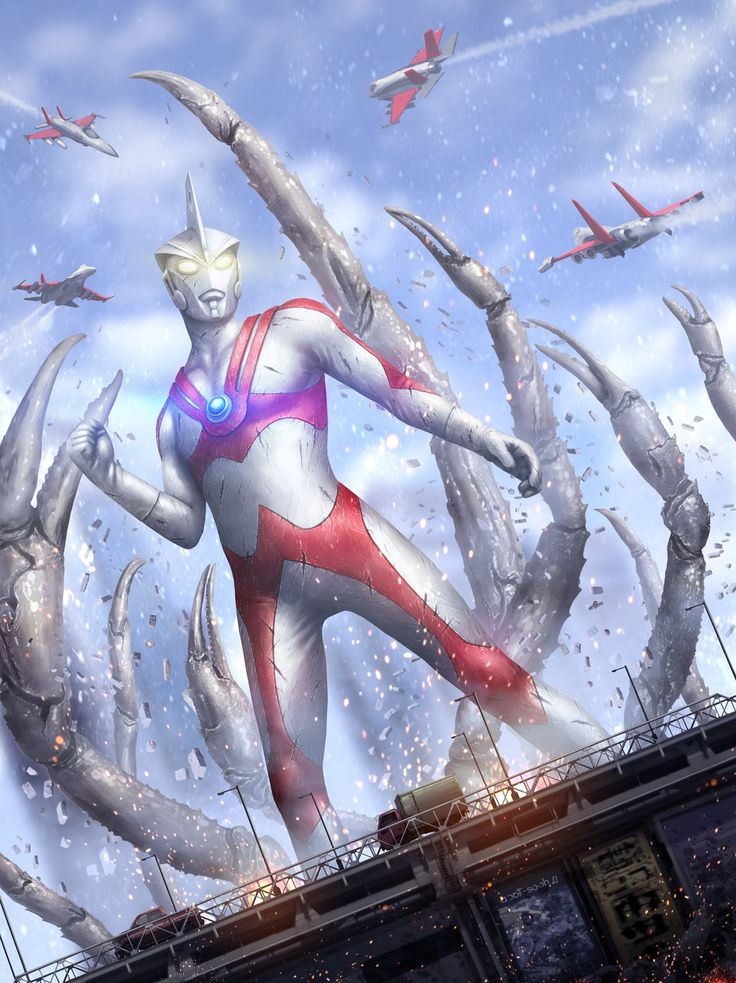 From the Ultraman Ultimate Archive by Tekkoontan