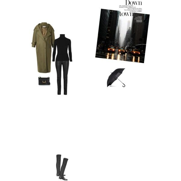 Bez tytułu #109 by izabelmaz on Polyvore featuring moda, Acne Studios, Preen, Helmut Lang, Jimmy Choo, Yves Saint Laurent and Fulton