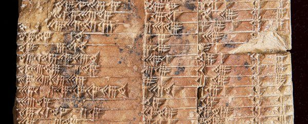This 3,700-Year-Old Babylonian Clay Tablet Just Changed The History of Maths - A Babylonian clay tablet dating back 3,700 years has been identified as the world's oldest and most accurate trigonometric table, suggesting the Babylonians beat the ancient Greeks to the invention of trigonometry by over 1,000 years.