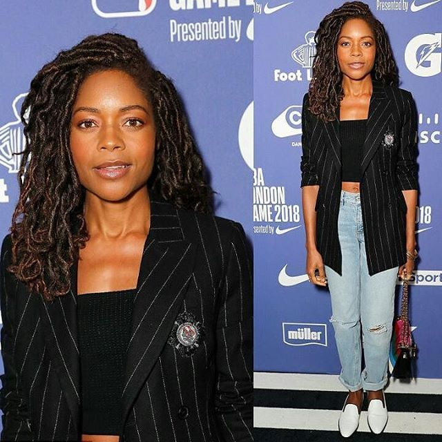 #Naomieharris lovely at an NBA match in London . . . . . . . . . . . . . . . . . #InstaFashion #Fashion #Style #Stylish #Fashionista #FashionBlogger #Stylist #FashionDaily #IGStyle #photooftheday #StreetFashion #Streetstyle #Ootn #Ootd #lookoftheday#celebrityfashion