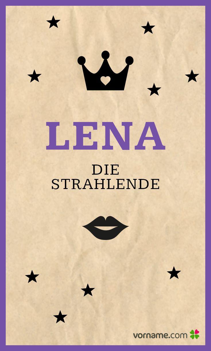 Vorname Lena: Herkunft, Bedeutung & Namenstag Beliebte.