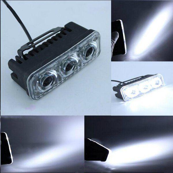 Motor Sepeda LED Kerja Spot Light 9 W LED Motorcycle Driving Cahaya 12-80VDC Lampu Untuk Sepeda Motor, mobil, truk, perahu
