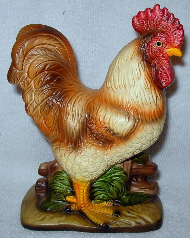 240 Best Rooster Amp Hen Figurines Images On Pinterest