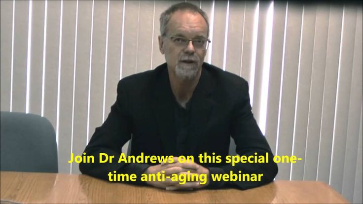 Join Dr Bill Andrews in this LIVE anti-aging webinar - July 10/11