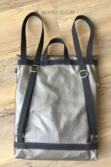 Die Kuriertasche / Ein Rucksack-Projekt | Taschen | Pinterest ...