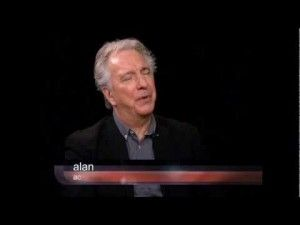 VIDEO: Alan Rickman Interview on Charlie Rose - Feb 2012
