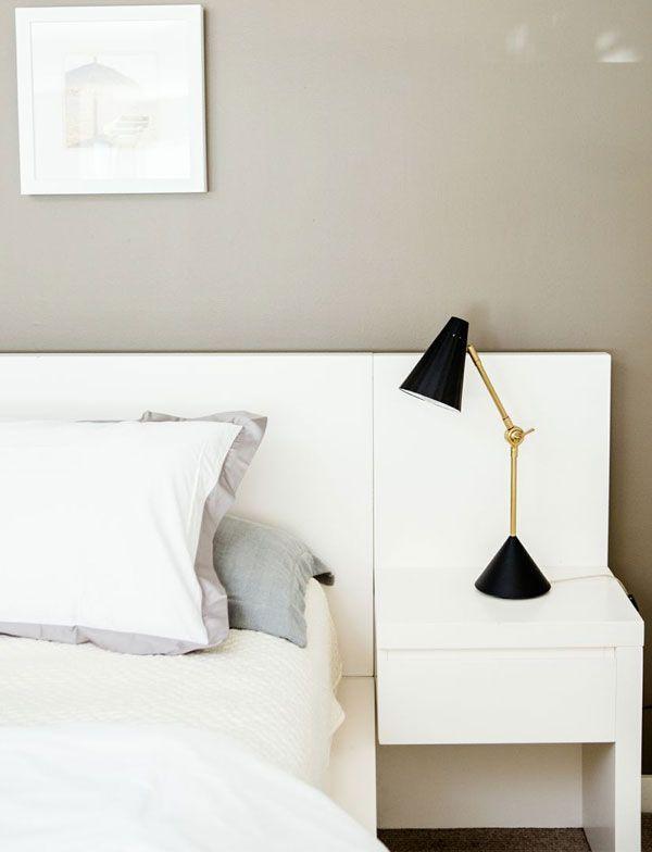 Headboard & nightstand