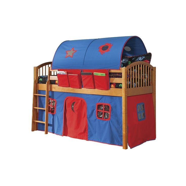 Alaterre Junior Loft Bed, Multicolor