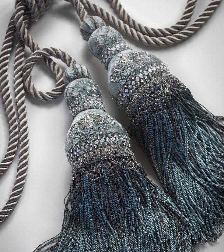 Бьянка двойной кисточкой подвязать - Beaumont & Fletcher роскошная мебель ручной работы и сделанные на заказ ткани