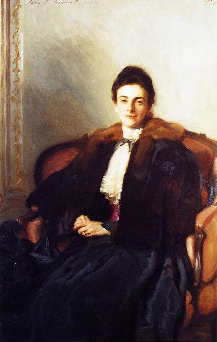 Mrs. Harold Wilson (Anna Margary) 1897. Джон Сингер Сарджент