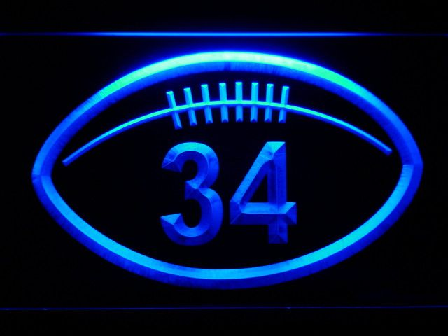 Chicago Bears Walter Payton Memorial LED Neon Sign - Legacy Edition