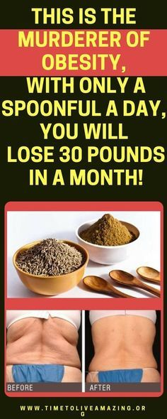 Only A Spoonful A Day To Lose 30 Pounds In A Month! - Time To Live Amazing