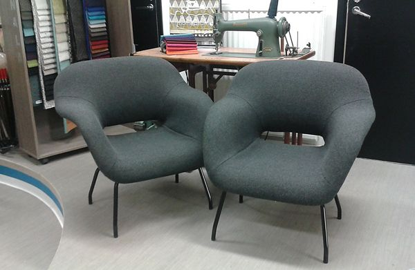 Like this kind of chairs! Fabric Kvadrat Hallingdal 65. www.verhoomopalttina.com