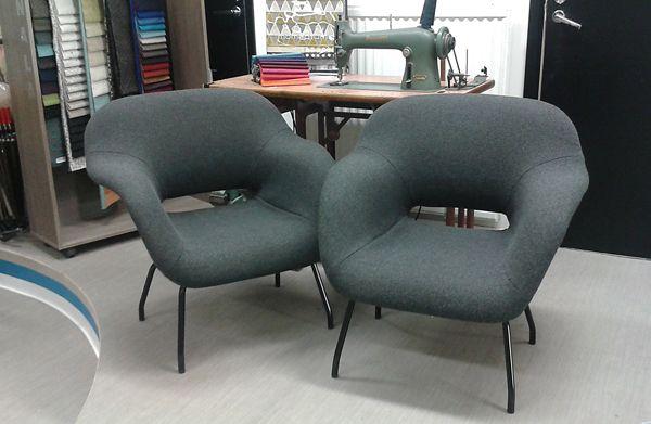 Like this kind of chairs! Fabric Kvadrat Hallingdal 65. www.verhoomopalttina.com