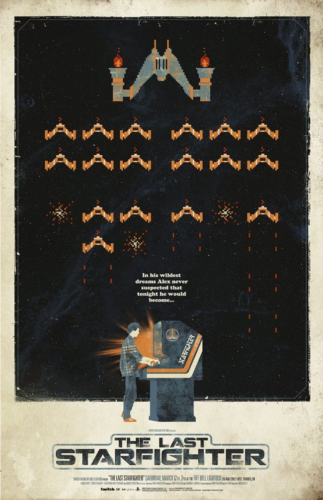 GameSetWatch The Last Starfighter Movie Poster, Contest