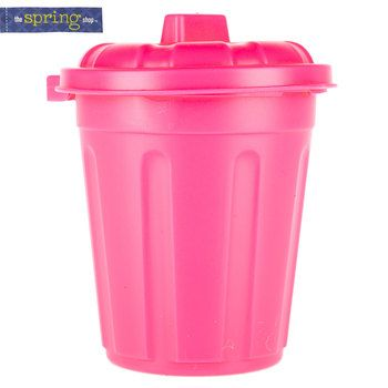 Pink Plastic Tub with Lid