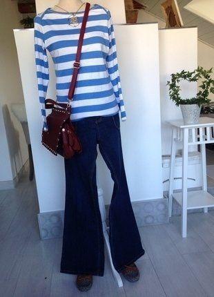 Kaufe meinen Artikel bei #Kleiderkreisel http://www.kleiderkreisel.de/damenmode/langarmlig/144036833-esprit-streifen-shirt
