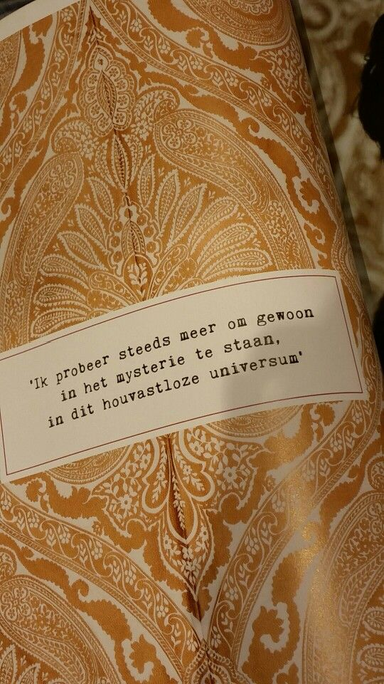 Mysterie quote