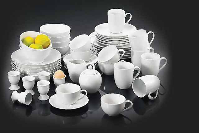 50-Piece Porcelain Dinner Set