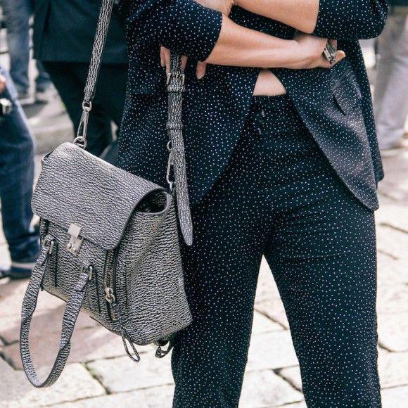 Street Style Details of Milan Fashion Week - Phillip Lim Bag