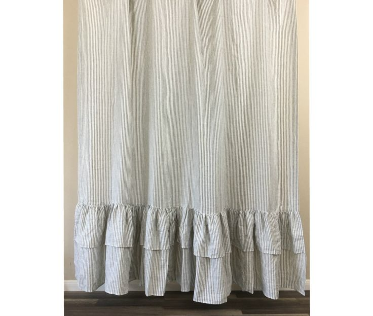 grey and white striped shower curtain. Grey and White Striped Shower Curtain with 2 Tiered Mermaid Ruffles These shower  curtains are designed grey white stripes Best 25 ideas on Pinterest striped