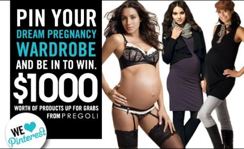 Like a chance to win 1000 dollars worth of products from Pregoli?