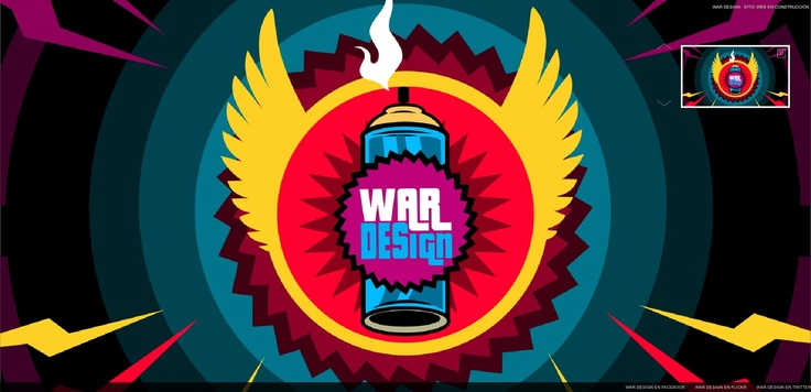 War Design Co. - Portfolio online. http://wardesign.co