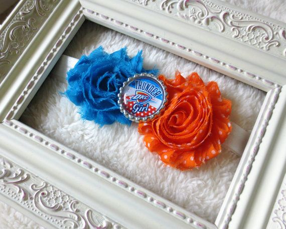 Check out this item in my Etsy shop https://www.etsy.com/listing/125942240/okc-thunder-headband-oklahoma-city