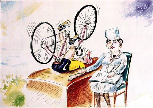 Электровелосипед - юмор с ветерком/ Электрический велосипед? Ой, умора... Нет таких в природе!