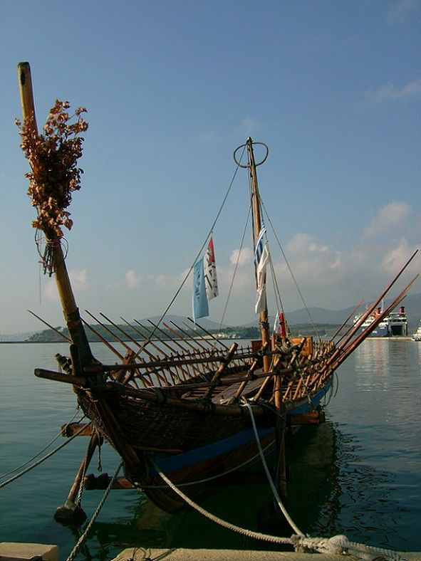 replica of the Argo, Volos harbour (photo by Debborah Donnelly)