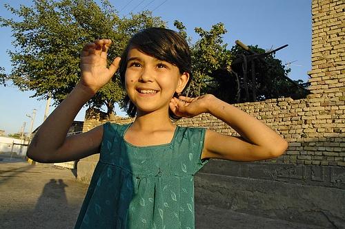 Uzbekistan girl, Bukhara, Asia