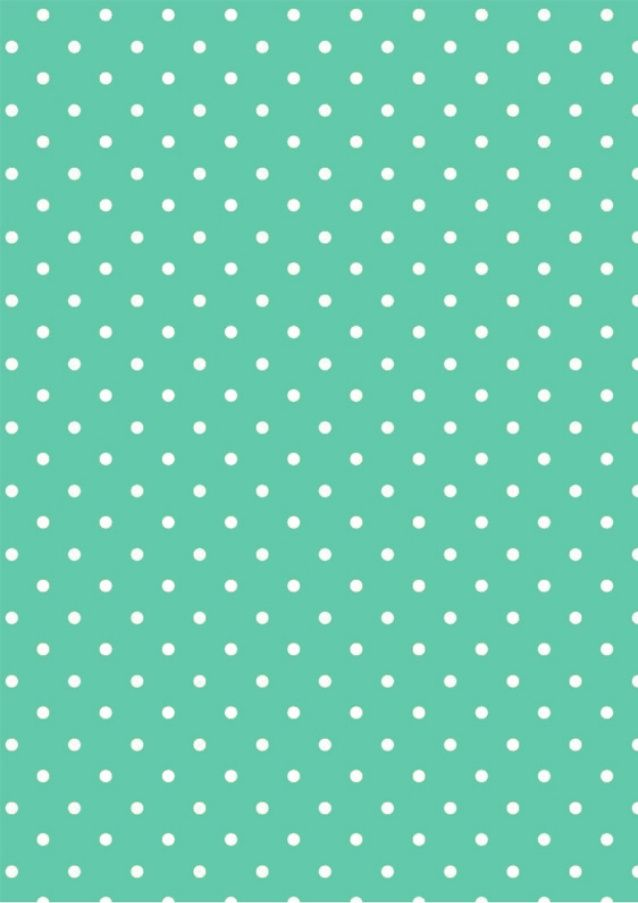 Papel deco fans_polka mint-melinda by Marta Roig via slideshare