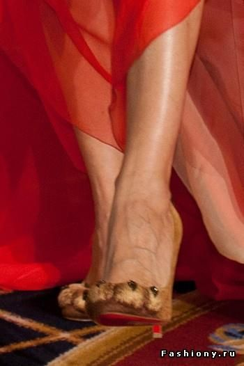 Туфли кошачьи лапы