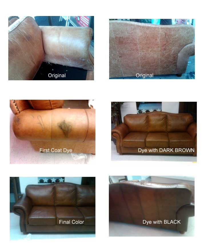 Re Dye Leather Chairs Furniture Reupholstery