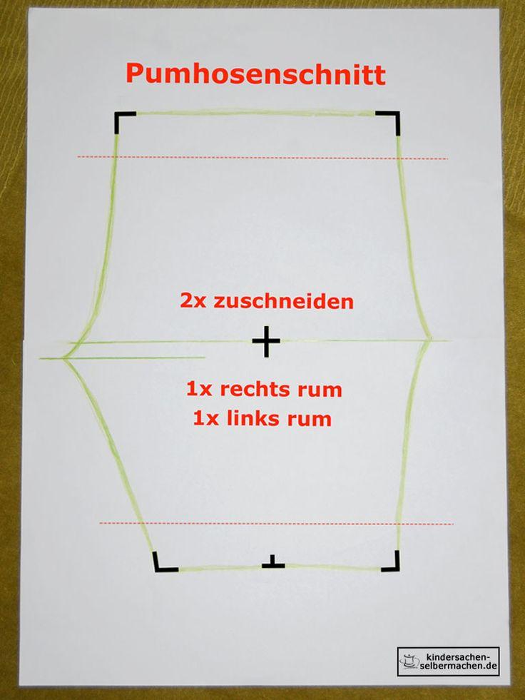 Pumphose - Anleitung - Schnittmuster - 06