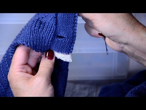 Как из горизонтальных разрезов сделать петли под пуговицы - YouTube