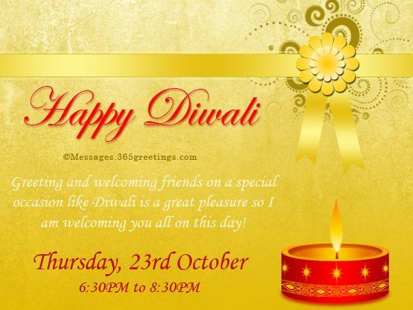 11 best free diwali invitation cards and wording samples images on diwali invitations and wordings stopboris Gallery