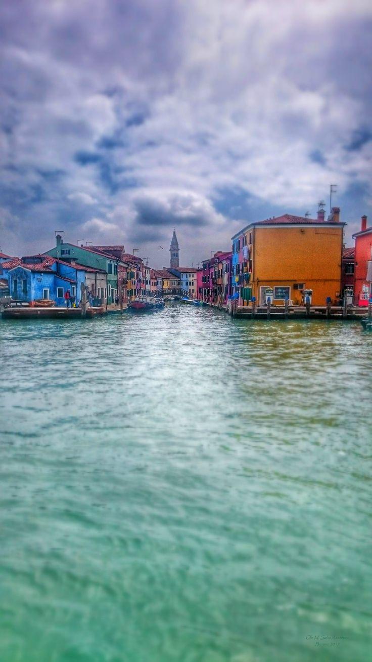 Burano, Venice. Beautiful island.Photo by Ole M. Søby
