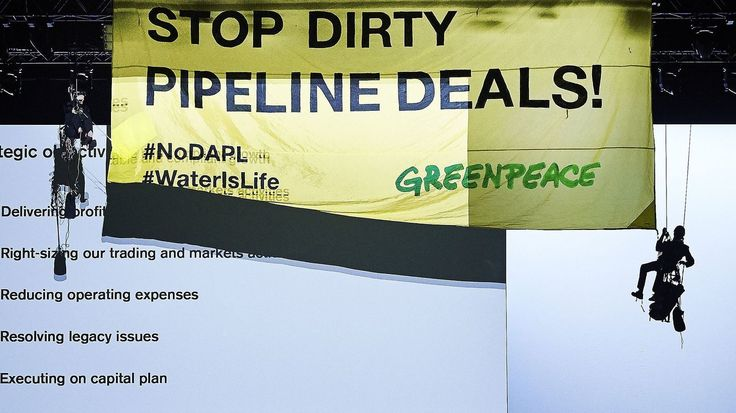 Dakota Access Pipeline Owner Sues Greenpeace For 'Criminal Activity' http://www.npr.org/sections/thetwo-way/2017/08/22/545310247/dakota-access-pipeline-owner-sues-greenpeace-for-criminal-activity