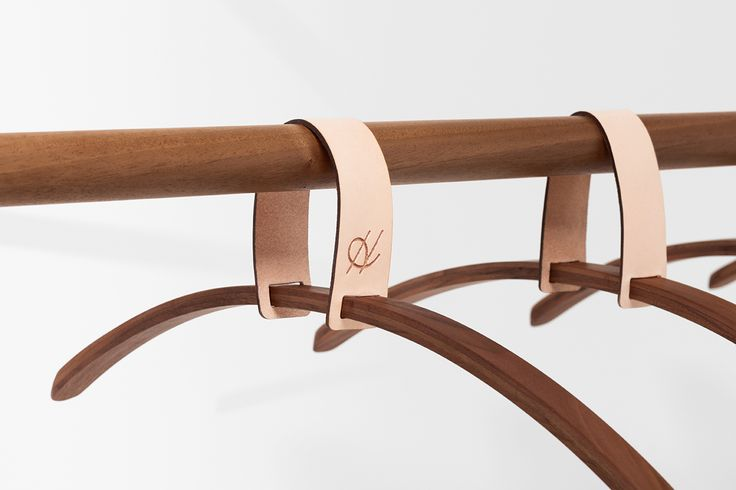 Belt Series - Belt hanging rack designed by Jessica Nebel http://www.hfurniture.co/product_collection/belt-series/